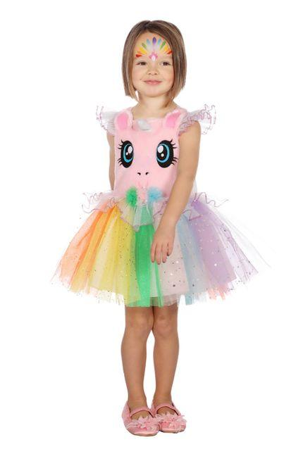 Einhorn Regenbogen Tutu-Kleid Mädchen Kostüm – Bild 1