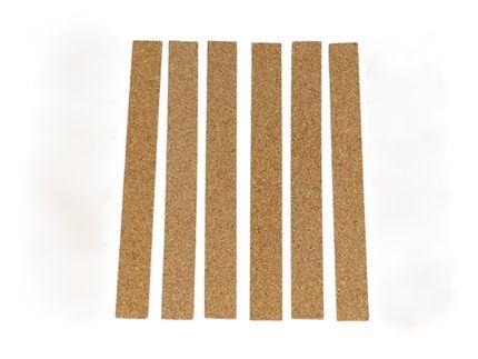 6 selbstklebende Huteinlagen Polster aus Kork zur Passoptimierung