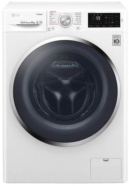 lg 9kg xl waschmaschine waschvollautomat a spa steam frontlader display 1400u ebay. Black Bedroom Furniture Sets. Home Design Ideas