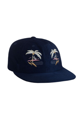 HUF - SOUVENIR 6-PANEL CAP - NAVY