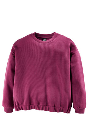CLEPTOMANICX - WOMENS CREWNECK - QUILTED