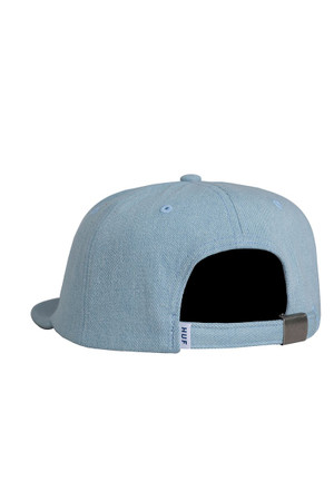 HUF - ROME 6-PANEL CAP - LIGHT BLUE