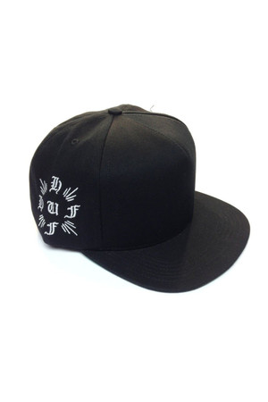 HUF - CROSS SNAPBACK - BLACK