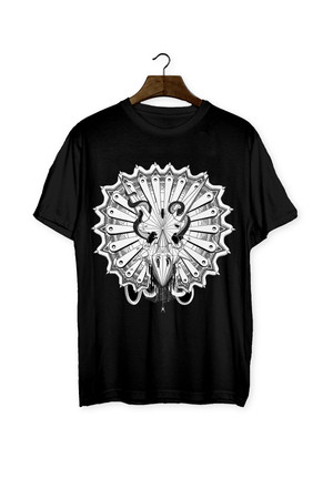 HOT CHEESE CREW - TRICERATOPS T-SHIRT