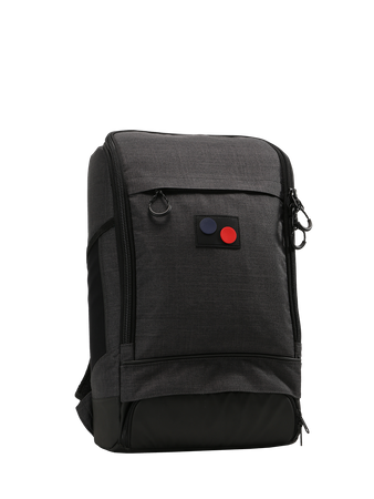 PINQPONQ - CUBIK MEDIUM BACKPACK ANTHRACITE MELANGE