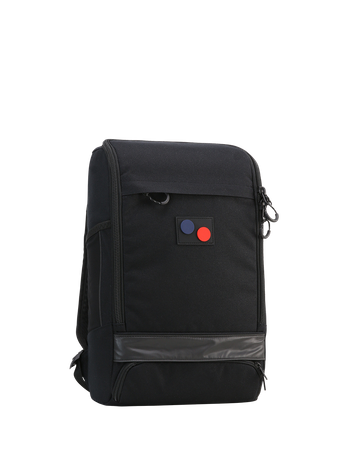 PINQPONQ - CUBIK MEDIUM BACKPACK LICORICE BLACK