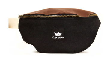 FREIBEUTLER - HIP BAG - NEW BLACK