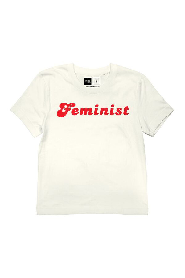 fe1fb9cb12 DEDICATED - MYSEN FEMINIST T-SHIRT - OFF-WHITE