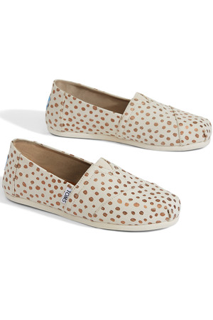 TOMS - ROSE GOLD DOTS CLASSICS