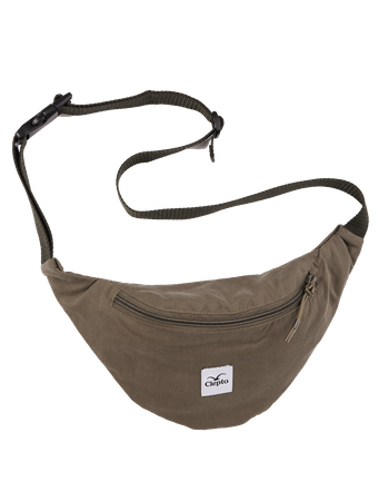 CLEPTOMANICX - HIPBAG C.I. PATCH - DUSTY OLIVE