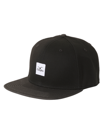 CLEPTOMANICX - ONE SIZE CAP - BADGER 3 - BLACK