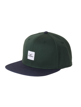 CLEPTOMANICX - ONE SIZE CAP - BADGER 3 - BOTTLE GREEN