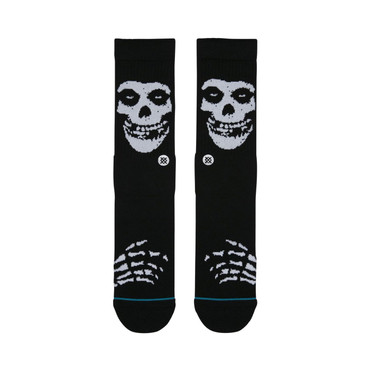 STANCE - FOUNDATION - MISFITS - BLACK
