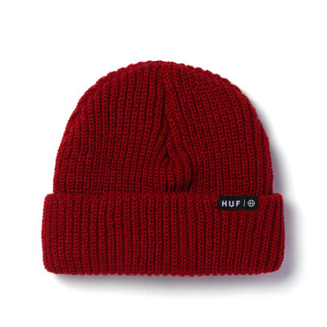 HUF - USUAL BEANIE - SCARLET