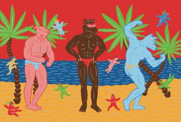RAHEL SÜSSKIND - BEACH DOGS