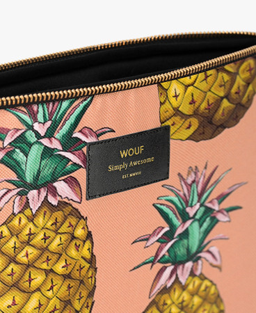 "WOUF - ANANAS 13"" LAPTOP SLEEVE"