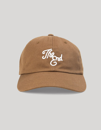 THE DUDES - THE DAD END CAP - BROWN