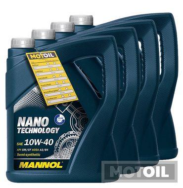 MANNOL 10W-40 Nano Technology Motoröl,VW,MB – Bild 5