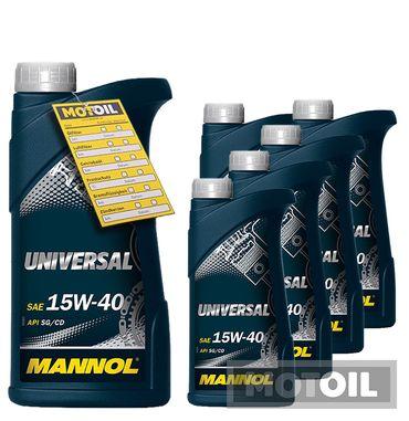 MANNOL Universal 15W-40 – Bild 11