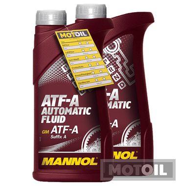 MANNOL ATF-A Automatic Fluid Getriebeöl – Bild 2