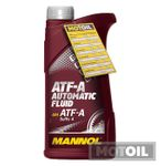 MANNOL ATF-A Automatic Fluid Getriebeöl 001