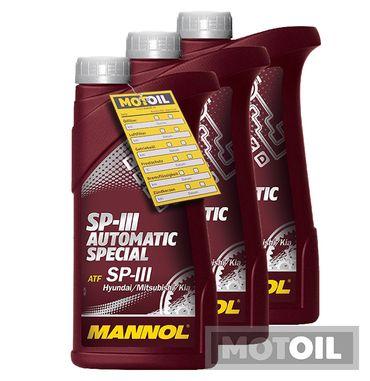 MANNOL SP-III Automatic Special Getriebeöl – Bild 2