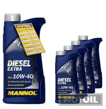 MANNOL Diesel Extra 10W-40  – Bild 5