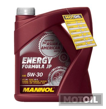 MANNOL Energy Formula JP 5W-30 – Bild 11