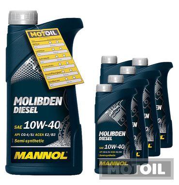 MANNOL Molibden Diesel 10W-40 – Bild 6