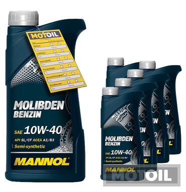 MANNOL Molibden Benzin 10W-40 – Bild 6