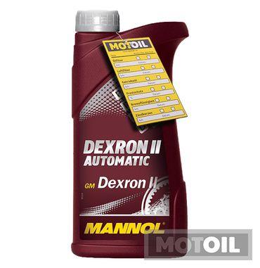 MANNOL Dexron II Automatic Getriebeöl – Bild 1