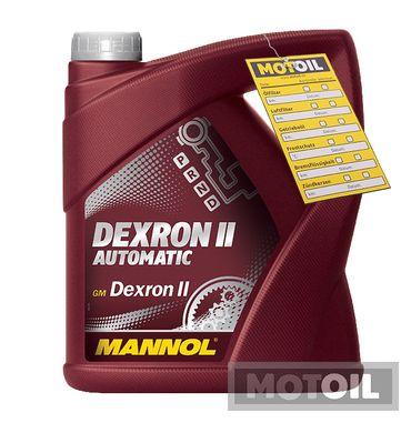 MANNOL Dexron II Automatic Getriebeöl – Bild 11