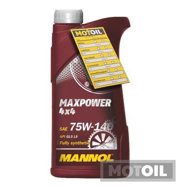 MANNOL Maxpower 4x4 75W-140 Getriebeöl – Bild 1