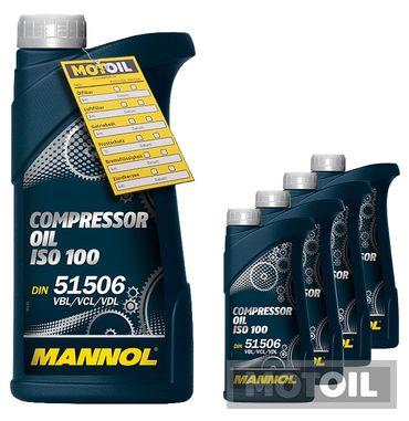 MANNOL Compressor Oil ISO 100 Kompressoröl – Bild 5