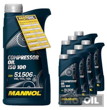 MANNOL Compressor Oil ISO 100 Kompressoröl – Bild 8