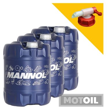 MANNOL TS-9 UHPD Nano Motoröl LKW – Bild 14