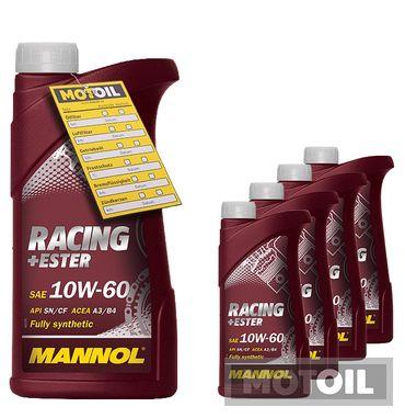 MANNOL Racing+Ester 10W-60 – Bild 5