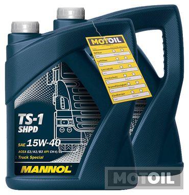 MANNOL TS-1 SHPD 15W-40 Motoröl LKW – Bild 2