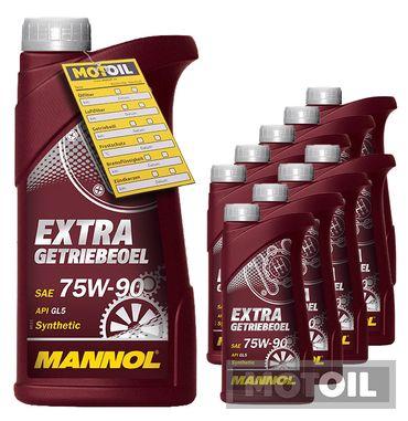 MANNOL Extra Getriebeöl 75W-90 – Bild 10