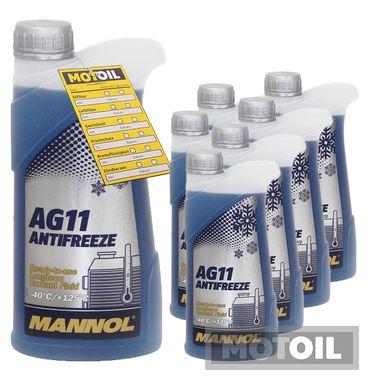 MANNOL Kühlerfrostschutz Longterm Antifreeze AG11 -40°C – Bild 3