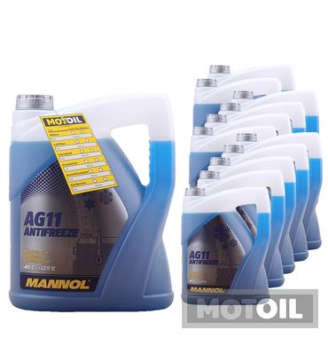 MANNOL Kühlerfrostschutz Longterm Antifreeze AG11 -40°C – Bild 15
