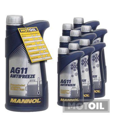 MANNOL Kühlerfrostschutz Longterm Antifreeze AG11 – Bild 9