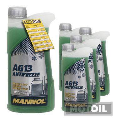 MANNOL Kühlerfrostschutz Hightec Antifreeze AG13 -40°C – Bild 4