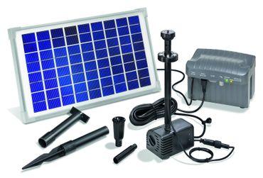 Solar-Pumpen-System Napoli LED komplettes Set – Bild 1