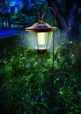 Solar LED Hängeleuchte Tivoli Laterne warmweiß 2800 K    – Bild 2
