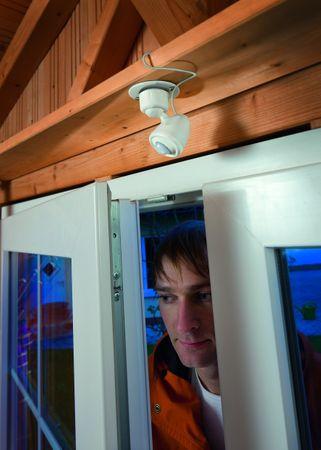 Solar LED Lichtsystem mit PIR kaltweiss 6500 K      – Bild 3