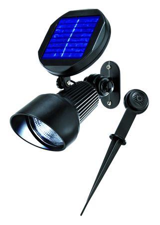 Solar LED Spotlight kaltweiss 6000 K      – Bild 1