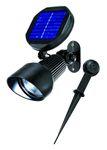 Solar LED Spotlight kaltweiss 6000 K      001