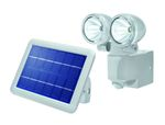 Solar PIR-Wandstrahler DUO Power II grau kaltweiß 6500 K 001