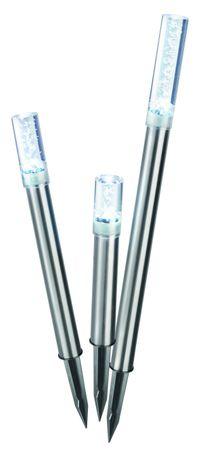 """Solar Designleuchten """"Trio Sticks"""" kaltweiß 6500 K   – Bild 1"""